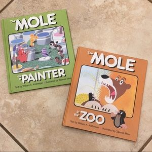 Krtek — The Little Mole as Painter and in the Zoo